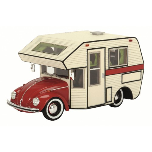 1 43 miniature de collection volkswagen vw coccinelle camping car schuco vente de voitures. Black Bedroom Furniture Sets. Home Design Ideas