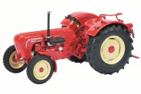 1/43 MINIATURE AGRICOLE DE COLLECTION TRACTEUR PORSCHE MASTER ROUGE-SCHUCO450895300