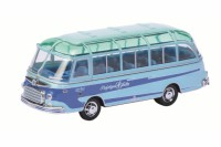 "1/87 HO AUTOCAR MINIATURE DE COLLECTION SETRA S6 ""KRAICHGAU FALKE""SCHUCO"