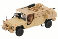 "1/87 HO VEHICULE MINIATURE DE COLLECTION MILITAIRE SERVAL ""ISAF""SCHUCO"