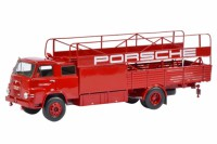 "1/18 CAMION MINIATURE DE COLLECTION MAN 415 TRANSPORTEUR ""PORSCHE""1970-SCHUCO"
