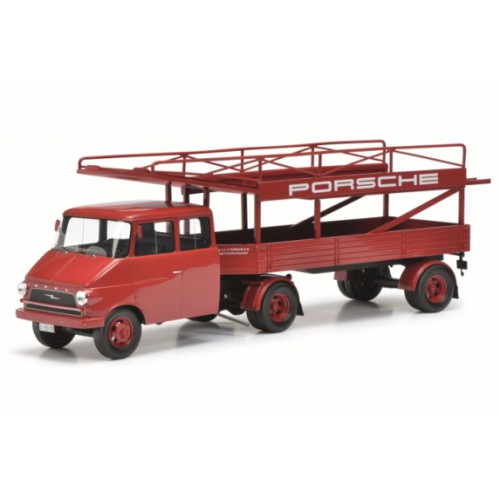 1 18 camion miniature opel blitz racing transporteur. Black Bedroom Furniture Sets. Home Design Ideas