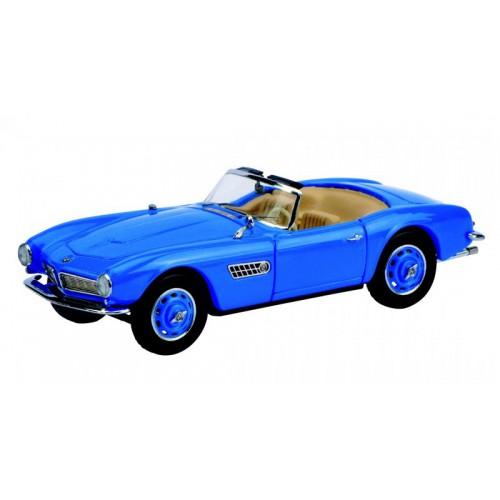 1 43 voiture miniature de collection bmw 507 bleu. Black Bedroom Furniture Sets. Home Design Ideas