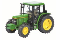1/32 VEHICULE MINIATURE DE COLLECTION AGRICOLE TRACTEUR JOHN DEERE 6400-SCHUCO450773100