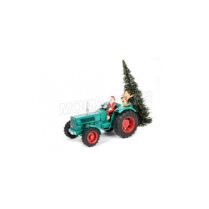 "1/32 AGRICOLE MINIATURE DE COLLECTION TRACTEUR HANOMAG ROBUST 900 ""CHRISTMAS 2017""SCHUCO450780200"