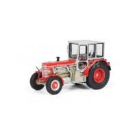 1/43 AGRICOLE MINIATURE DE COLLECTION TRACTEUR HURLIMANN DH 6 ROUGE-SCHUCO450902700