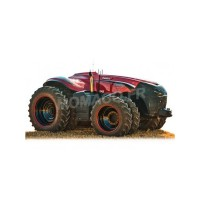 1/32 VEHICULES AGRICOLE MINIATURE DE COLLECTION TRACTEUR CASE IH AUTONOMUS-SCHUCO450904200