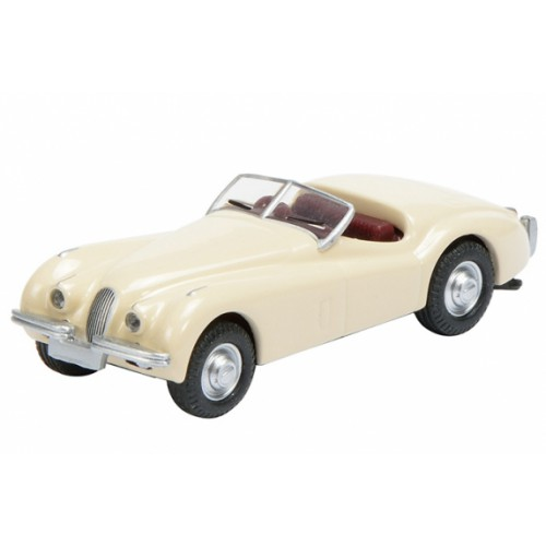 1 87 ho voiture miniature jaguar xk 120 creme schuco452617300 vente de voitures miniatures. Black Bedroom Furniture Sets. Home Design Ideas