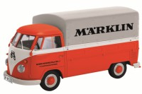 "1/87 HO MINIATURE DE COLLECTION VOLKSWAGEN VW T1 PICK-UP ""MARKLIN""-SCHUCO"