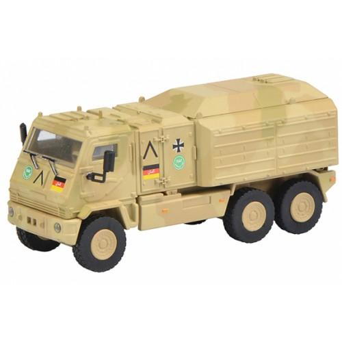 1 87 ho camion militaire miniature yak vehicule de service isaf schuco452624500 vente de. Black Bedroom Furniture Sets. Home Design Ideas