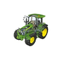 1/32 TRACTEUR MINIATURE DE COLLECTION JOHN DEERE 5125 R-SCHUCO450772700