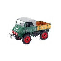 1/18 CAMION MINIATURE DE COLLECTION MERCEDES-BENZ UNIMOG 401 VERT-SCHUCO450014200