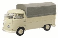 1/18 COMBI MINIATURE DE COLLECTION VOLKSWAGEN VW T1B PICK-UP AVEC BACHE-SCHUCO450037000