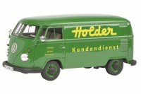 "1/32 COMBI VEHICULE PUBLICITAIRE MINIATURE DE COLLECTION VOLKSWAGEN VW T1B ""HOLDER""SCHUCO450892700"