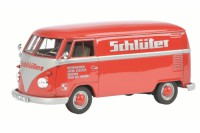 "1/32 COMBI VEHICULE PUBLICITAIRE MINIATURE DE COLLECTION VOLKSWAGEN  VW T1B ""SCHLUTER""SCHUCO450892800"