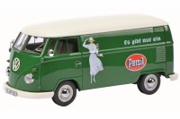 "1/32 COMBI VEHICULE PUBLICITAIRE MINIATURE DE COLLECTION VOLKSWAGEN VW T1B ""PERSIL""SCHUCO450892900"