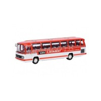 "1/87 HO AUTOCAR MINIATURE DE COLLECTION MERCEDES-BENZ O302 BUS ""AEG LAVAMAT""SCHUCO452611101"