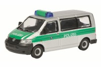 1/87 HO VEHICULE UTILITAIRE MINIATURE DE COLLECTION VOLKSWAGEN VW T5 POLIZEI-SCHUCO452622000