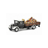 "1/43 CAMION MINIATURE DE COLLECTION MERCEDES-BENZ LO2750 ""CHRISTMAS 2018""SCHUCO450310400"