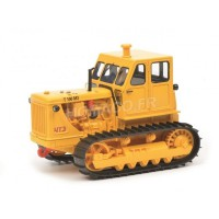 1/43 CRAWLER AGRICOLE MINIATURE DE COLLECTION CRAWLER T100 M3 JAUNE-SCHUCO450905700