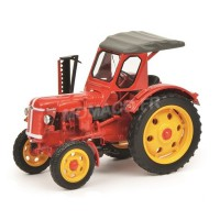 1/32 TRACTEUR AGRICOLE MINIATURE DE COLLECTION TRACTEUR FAMULUS RS 14/36 ROUGE-SCHUCO450907400