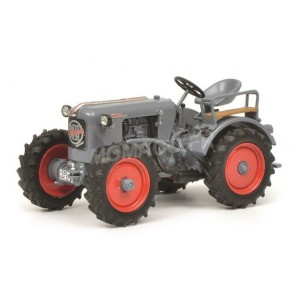 1/43 EICHER TRACTEUR AGRICOLE MINIATURE DE COLLECTION EICHER ED 26 GRIS-SCHUCO450908300