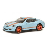 1/87 HO PORSCHE VOITURE MINIATURE DE COLLECTION PORSCHE 911 R BLEUE/ORANGE-SCHUCO452637500