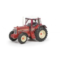 1/87 HO IHC TRACTEUR AGRICOLE MINIATURE DE COLLECTION IHC 1455 XL ROUGE-SCHUCO452641800