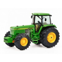 1/32 JOHN DEERE 4955 TRACTEUR MINIATURE AGRICOLE DE COLLECTION-SCHUCO450764900