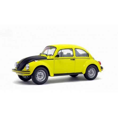 1 18 voiture miniature de collection volkswagen beetle gsr jaune noir mat 1973 solido vente de. Black Bedroom Furniture Sets. Home Design Ideas