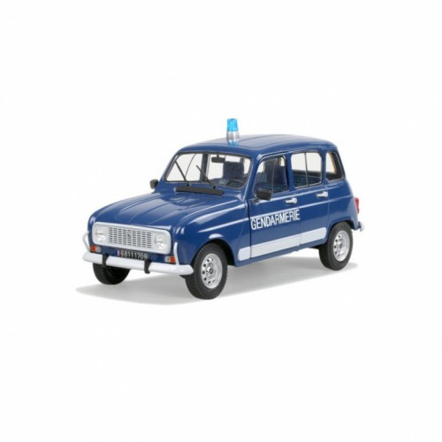 1 18 voiture miniature de collection renault 4l gendarmerie 1989 solido vente de voitures. Black Bedroom Furniture Sets. Home Design Ideas