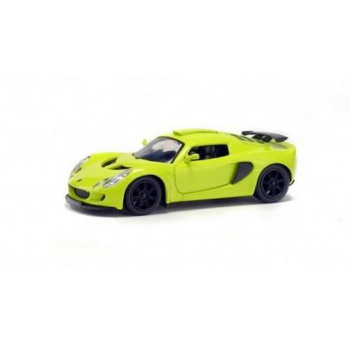 1 43 voiture miniature de collection lotus exige s2 jaune 2004 solido vente de voitures. Black Bedroom Furniture Sets. Home Design Ideas