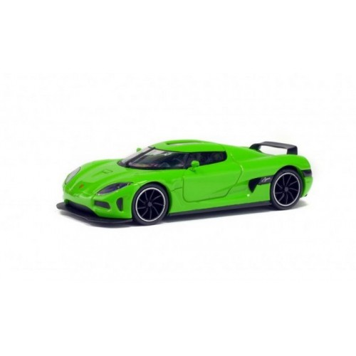 1 43 voiture miniature de collection koenigsegg agera vert 2012 solido vente de voitures. Black Bedroom Furniture Sets. Home Design Ideas