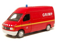 1/43 VEHICULE MINIATURE DE POMPIER MERCEDES-BENZ SPRINTER-1995-SOLIDO
