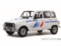 1/18 RENAULT 4 GTL AÉROPORT DE PARIS AIR FRANCE - 1978-SOLIDO1800108 EDITION LIMITEE A 1000 EXEMPLAIRES