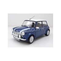 1/18 VOITURE MINIATURE DE COLLECTION MINI COOPER 1.3I SPORT PACK 1997 BLEUE-SOLIDO-S1800601