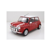1/18 VOITURE MINIATURE DE COLLECTION MINI COOPER 1.3I SPORT PACK 1997 ROUGE-SOLIDO-S1800602