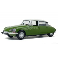 1/18 CITROËN VOITURE MINIATURE DE COLLECTION CITROËN DS 1972 VERTE-SOLIDO-S1800703