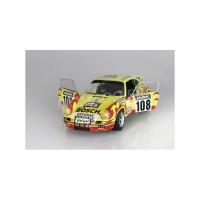 1/18 PORSCHE VOITURE MINIATURE DE COLLECTION PORSCHE 911 RSR 108 TOUR AUTO 1973-SOLIDO-S1801109