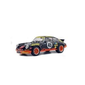 1/18 PORSCHE VOITURE MINIATURE DE COLLECTION PORSCHE 911 RSR 46 KREMER 24H DE SPA 1973-SOLIDO-S1801110