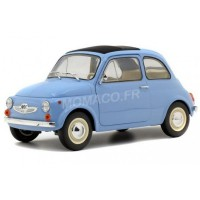 1/18 FIAT VOITURE MINIATURE DE COLLECTION FIAT STEYR-PUSH 500 1969 BLEU-SOLIDO-S1801405