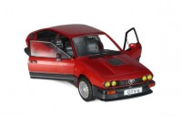 1/18 ALFA ROMEO VOITURE MINIATURE DE COLLECTION ALFA ROMEO GTV 6-1984-ROUGE-SOLIDOS1802301