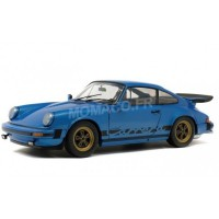 1/18 PORSCHE 930 3.2L SC TURBO LOOK 1984 BLEUE MINERVA-SOLIDO-S1802601