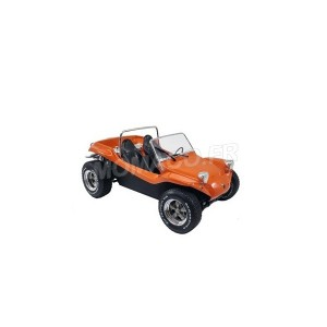 1/18 MEYERS VEHICULES MINIATURE DE COLLECTION MEYERS MANX BUGGY 1968 ORANGE-SOLIDO-S1802702
