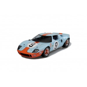 1/18 FORD VOITURE MINIATURE DE COLLECTION FORD GT40 MK1 WIDEBODY 9 24H DU MANS 1968-SOLIDO-S1803001