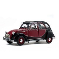 1/18 CITROËN 2CV CHARLESTON 1982 BORDEAUX/NOIR-SOLIDO-S1805013