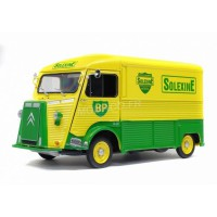 "1/18 CITROEN UTILITAIRE MINIATURE DE COLLECTION CITROEN TYPE HY 1969 ""BP - SOLEXINE""SOLIDO-S1850023"