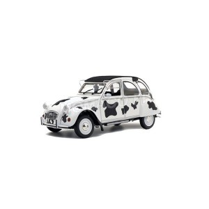 "1/18 CITROEN VOITURE MINIATURE DE COLLECTION CITROEN 2CV6 ""VACHE"" 1985-SOLIDO-S1850028"