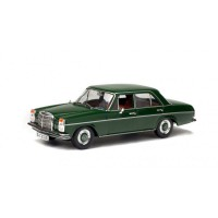 1/43 VOITURE MINIATURE DE COLLECTION MERCEDES-BENZ 200D 1968 VERT-SOLIDO-S4300600