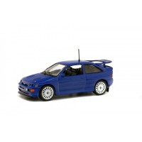 1/43 VOITURE MINIATURE DE COLLECTION FORD ESCORT RS COSWORTH 1992 BLEUE-SOLIDO-S4303700